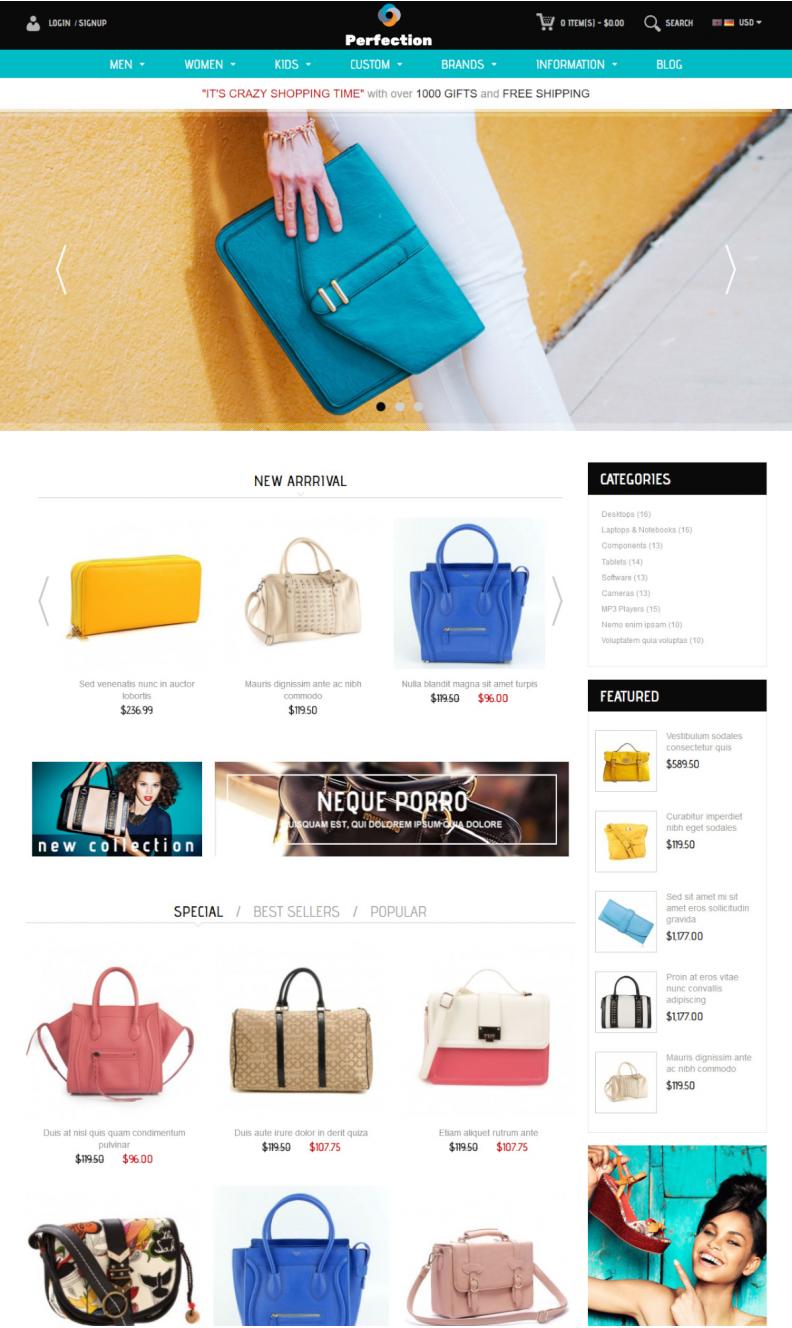 Разработка интернет-магазина брендовой одежды