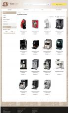 Разработка интернет-магазина кофе и кофемашин