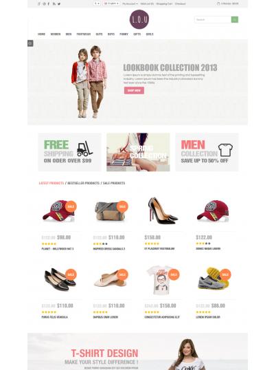 Разработка интернет-магазина обуви и аксессуаров