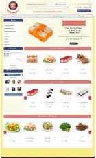 Разработка сайта доставки суши